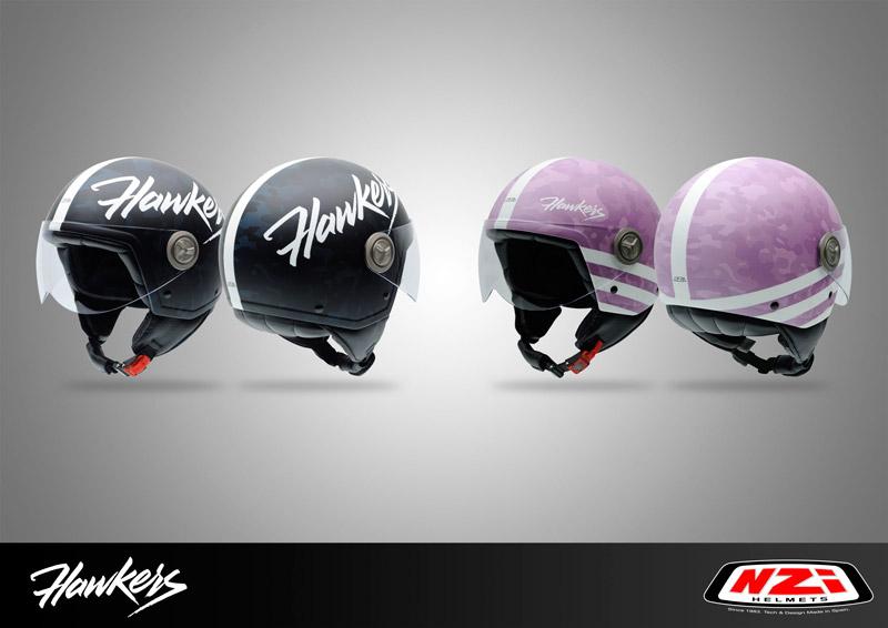 Hawkers firma una colaboración con NZI con el diseño de 2 cascos
