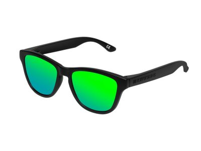 Hawkers Carbon Black  Emerald One Kids