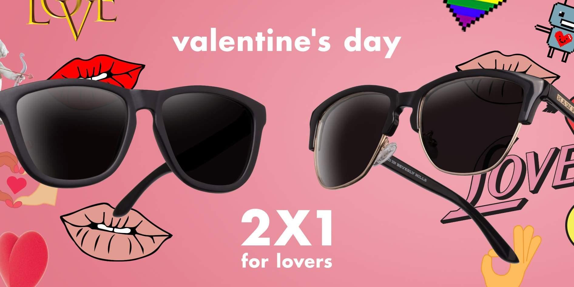 2×1 en Hawkers por San Valentín: Llévate 2 pares de gafas de sol y paga sólo 1