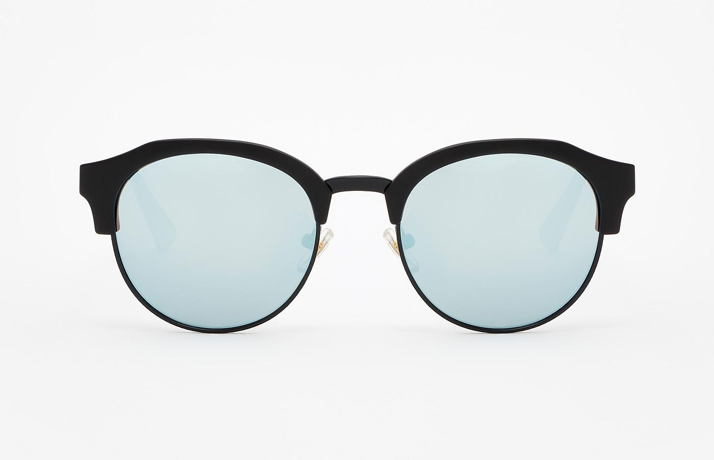 Gafas de Sol Hawkers Black · Navy Blue Chrome Classic Rounded ... bae78737768