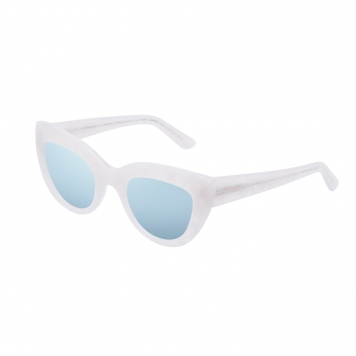 Hawkers White Pearl  Clear Blue Hyde X